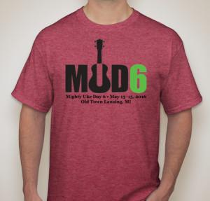 shirt red fundraiser