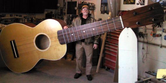 giant ukulele
