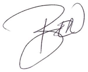 signature ben